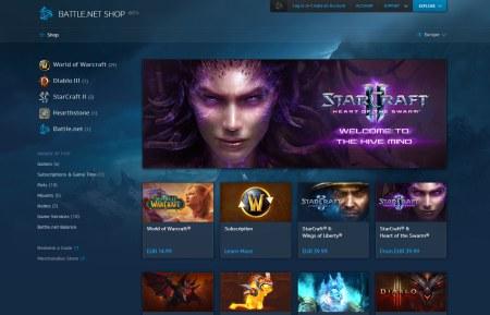 Beta verze nového obchodu na Battle.net