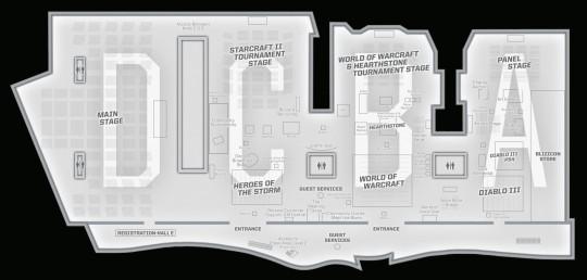 Plán jednotlivých scén na BlizzConu 2013