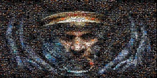 I <3 SC mozaika